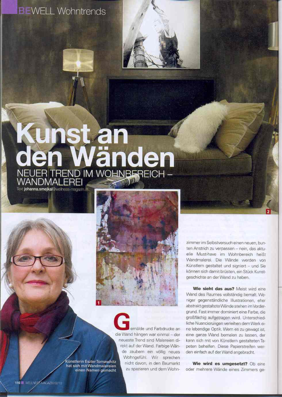 Wellness Magazin Februar 2010